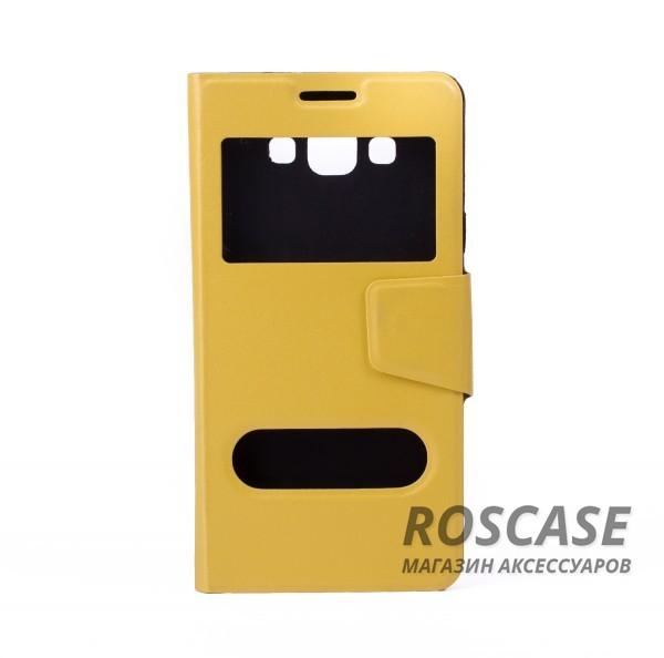 Чехол (книжка) с TPU креплением для Samsung A700H / A700F Galaxy A7 (Желтый)Описание:компания-разработчик: Epik;совместимость с устройством модели: Samsung A700H / A700F Galaxy A7;материал изделия: синтетическая кожа и термополиуретан;конфигурация: обложка в виде книжки.Особенности:всесторонняя защита смартфона;высокий класс износоустойчивости;элегантный дизайн;имеет все необходимые функциональные отверстия и окна для экрана.<br><br>Тип: Чехол<br>Бренд: Epik<br>Материал: Искусственная кожа