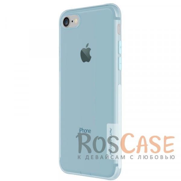 """Фотография Голубой (прозрачный) Nillkin Nature   Силиконовый чехол для Apple iPhone 7 / 8 (4.7"""")"""