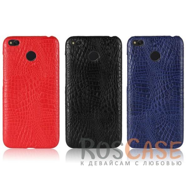 Стильный защитный чехол-накладка с текстурой крокодиловой кожи для Xiaomi Redmi 4XОписание:совместимость - Xiaomi Redmi 4X;тип - накладка;материал - искусственная кожа;защита задней панели и боковых граней;не скользит в руках;не заметны отпечатки пальцев;ультратонкий дизайн;фактурная поверхность с имитацией крокодиловой кожи;все необходимые функциональные вырезы.<br><br>Тип: Чехол<br>Бренд: Epik<br>Материал: Искусственная кожа