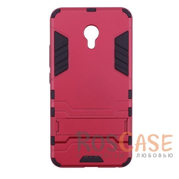 Ударопрочный чехол-подставка Transformer для Meizu M5 с мощной защитой корпуса (Красный / Dante Red)Описание:чехол разработан для Meizu M5;материалы - термополиуретан, поликарбонат;тип - накладка;функция подставки;защита от ударов;прочная конструкция;не скользит в руках.<br><br>Тип: Чехол<br>Бренд: Epik<br>Материал: Поликарбонат