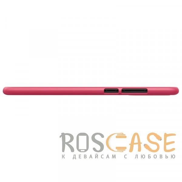 Фотография Красный Nillkin Super Frosted Shield | Матовый чехол для Huawei P20 (+ пленка)
