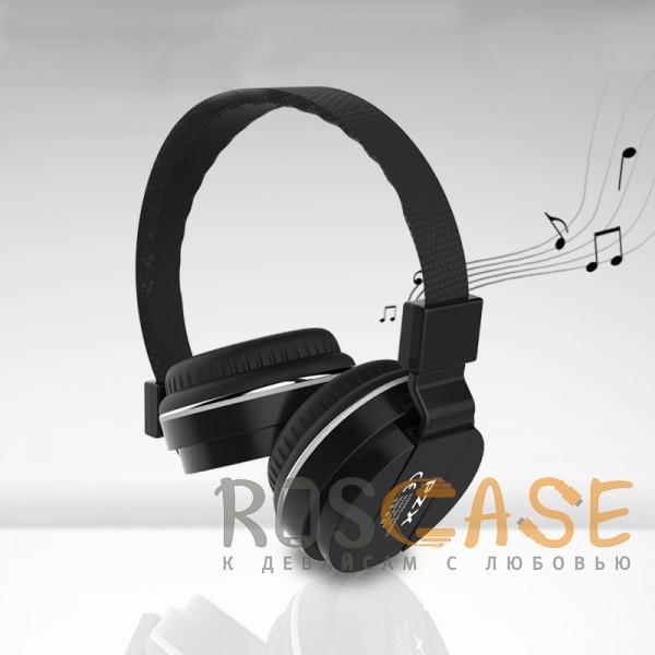 Фото PZX R2 | Накладные проводные наушники с микрофоном и кнопкой ответа на вызов
