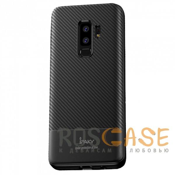 Фото iPaky Musy | Ультратонкий чехол для Samsung Galaxy S9+ с карбоновым покрытием