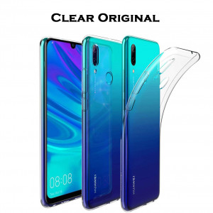 Clear Original | Прозрачный TPU чехол 2мм для Huawei P Smart (2019) / Honor 10 Lite