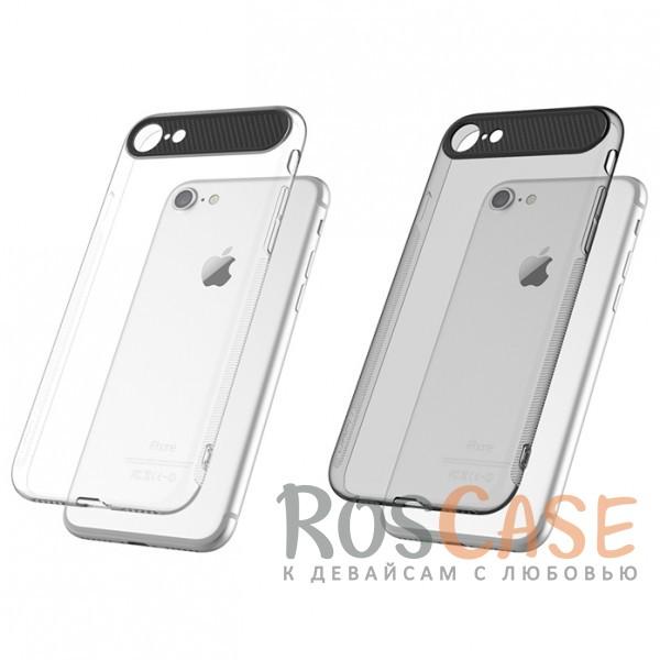 TPU+PC чехол Rock Ace Series для Apple iPhone 7 (4.7)Описание:произведен фирмой&amp;nbsp;Rock;материал: термополиуретан, поликарбонат;совместимость: Apple iPhone 7 (4.7);тип: накладка.<br><br>Тип: Чехол<br>Бренд: ROCK<br>Материал: TPU