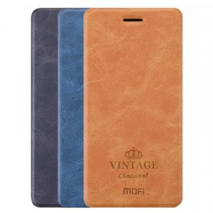 MOFI Vintage | Кожаный чехол-книжка с карманом  для Huawei Honor V9