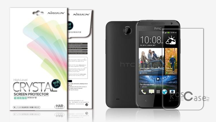 Фото защитной пленки Nillkin для HTC Desire 300
