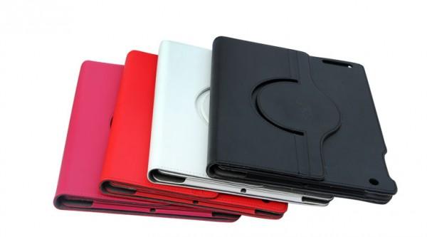 фото кожаный чехол Nuoku Dual (книжка) для Apple iPad 2/3/4