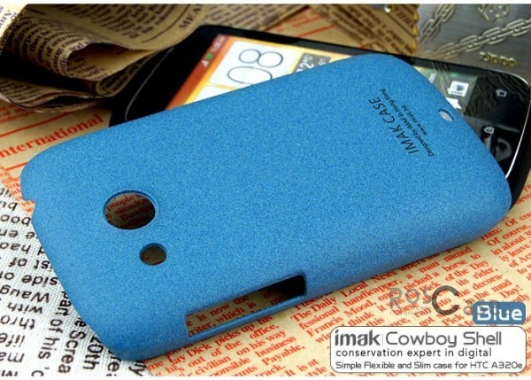 Фото чехла IMAK Cowboy series для HTC Desire C