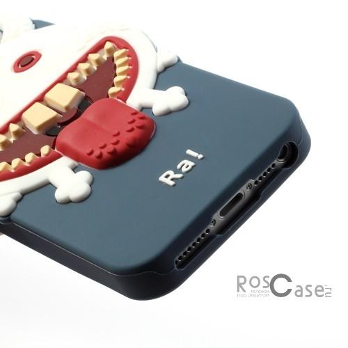 """фото силиконовый чехол """"Монстр RA"""" для Apple iPhone 5/5S/5SE"""