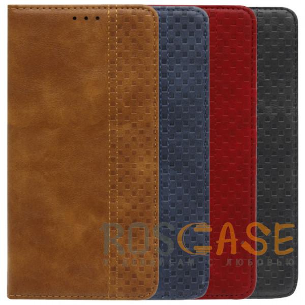Фото Business Wallet | Кожаный чехол книжка с визитницей для Xiaomi Redmi Note 9T