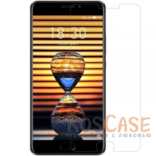 Прозрачная глянцевая защитная пленка на экран с гладким пылеотталкивающим покрытием для Meizu Pro 7 PlusОписание:бренд&amp;nbsp;Nillkin;совместимость - Meizu Pro 7 Plus;материал: полимер;тип: прозрачная пленка;ультратонкая;защита от царапин и потертостей;фильтрует УФ-излучение;размер пленки -&amp;nbsp;148,38*70,83 мм.<br><br>Тип: Защитная пленка<br>Бренд: Nillkin
