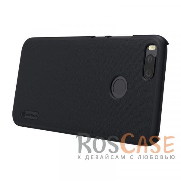 Изображение Черный Nillkin Super Frosted Shield | Матовый чехол для Xiaomi Mi 5X / Mi A1 (+ пленка)