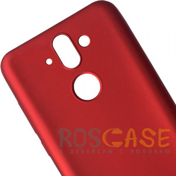 Изображение Красный J-Case THIN | Гибкий силиконовый чехол для Nokia 8 Sirocco