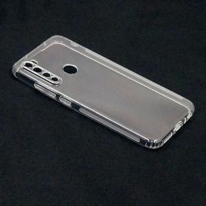 Прозрачный силиконовый чехол для Xiaomi Redmi Note 8 1мм с защитой камеры