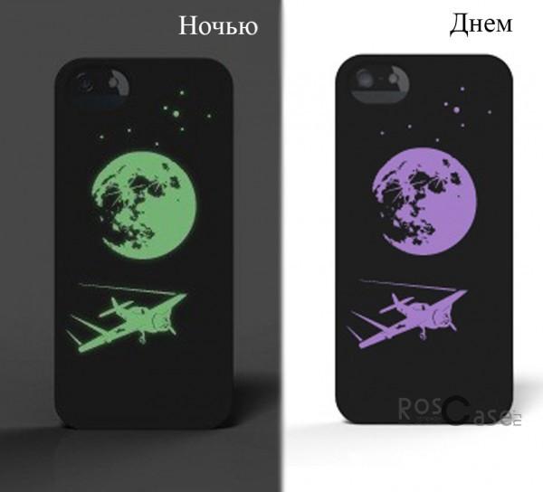 Фото светящейся накладки SleekOn для iPhone 5