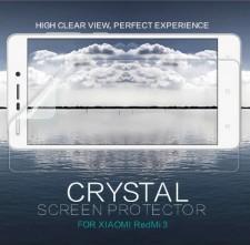 Nillkin Crystal | Прозрачная защитная пленка  для Xiaomi Redmi 3S