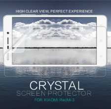Nillkin Crystal | Прозрачная защитная пленка для Xiaomi Redmi 3 / Redmi 3 Pro / Redmi 3s