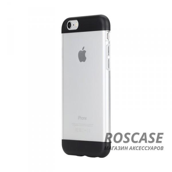 TPU+PC чехол Rock Aully Series для Apple iPhone 6/6s (4.7) (Черный / Black)Описание:бренд производителя: Rock;произведен для смартфона Apple iPhone 6/6s;изготовлен из поликарбоната и термополиуретана;форм-фактор: накладка.Особенности:имеет функцию антискольжения и антиотпечатков;оснащен надежной системой фиксации;обладает двойной защитой;износостойкий чехол.<br><br>Тип: Чехол<br>Бренд: ROCK<br>Материал: TPU