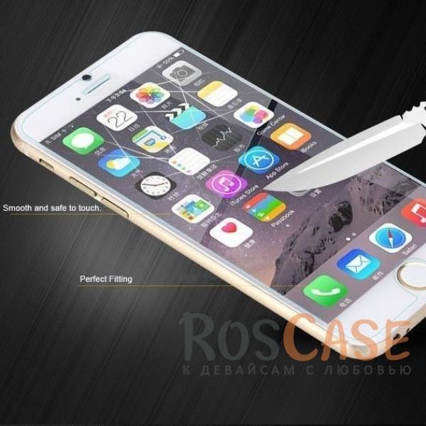 """Изображение Защитное стекло ROCK Premium Tempered (2.5D) 0.3mm (Anti-Blue Light) для Apple iPhone 6/6s (4.7"""")"""