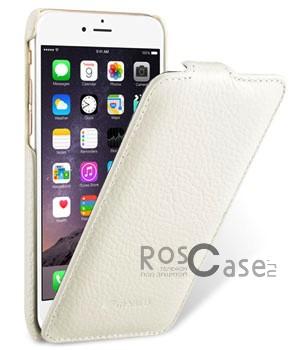 Прошитый чехол-флип из натуральной кожи Melkco для Apple iPhone 6/6s (4.7) (Белый)Описание:компания-производитель: Melkco;совместим с Apple iPhone 6/6s (4.7);используемые материалы: микрофибра, натуральная кожа, поликарбонат;форма чехла: флип вниз.&amp;nbsp;Особенности:полный набор функциональных прорезей;строчный шов по периметру;элегантный дизайн;фактурная поверхность;уникальный механизм закрытия - Jacka Type.<br><br>Тип: Чехол<br>Бренд: Melkco<br>Материал: Натуральная кожа