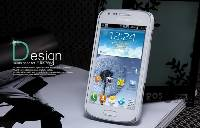 Матовый чехол Nillkin Super Frosted Shield для Samsung S7562 Galaxy S Duos/S7582 Galaxy S Duos 2 (+ пленка)