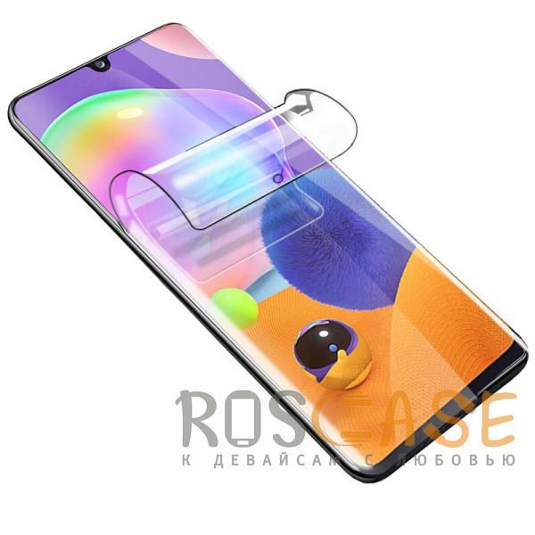 Фото Прозрачная Гидрогелевая защитная плёнка Rock для Samsung Galaxy A31