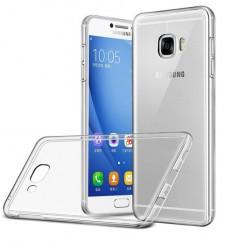 Ультратонкий силиконовый чехол для Samsung Galaxy C7