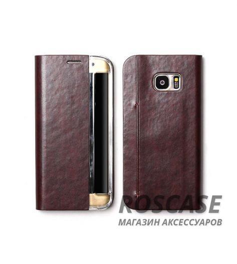 Кожаный чехол Zenus Masstige Basic Diary для Samsung G935F Galaxy S7 Edge (Винный)Описание:производитель  - &amp;nbsp;Zenus;совместим с&amp;nbsp;Samsung G935F Galaxy S7 Edge;материал  -  искусственная кожа, поликарбонат;форма  -  чехол-книжка.&amp;nbsp;Особенности:стильный дизайн;пластиковая вставка в обложке;окошко для вызова функций;в наличии все функциональные вырезы;не скользит в руках;тонкий дизайн;защищает от ударов и царапин.<br><br>Тип: Чехол<br>Бренд: Zenus<br>Материал: Искусственная кожа