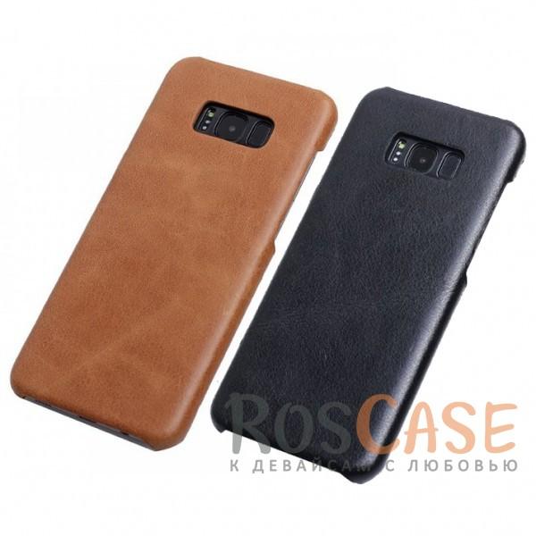 Тонкий чехол для Samsung G955 Galaxy S8 Plus из натуральной кожиОписание:чехол создан для Samsung G955 Galaxy S8 Plus;материал - натуральная кожа;формат - накладка;элегантный дизайн;матовая поверхность.<br><br>Тип: Чехол<br>Бренд: Epik<br>Материал: Натуральная кожа