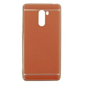 Чехол для Xiaomi Redmi 4 с текстурой кожи
