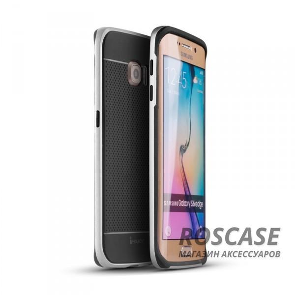 Чехол iPaky TPU+PC для Samsung G925F Galaxy S6 Edge (Черный / Серебряный)Описание:производитель: iPaky;совместимость: смартфон Samsung G925F Galaxy S6 Edge;материалы для изготовления: термополиуретан и поликарбонат;форм-фактор: накладка.Особенности:дополнительный каркас из поликарбоната;износостойкость и прочность;ультратонкая структура;в наличии все необходимые функциональные вырезы;легко чистится.<br><br>Тип: Чехол<br>Бренд: Epik<br>Материал: TPU