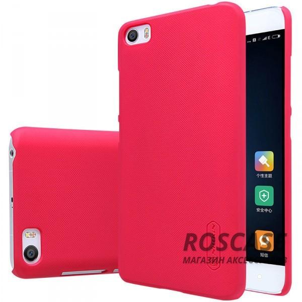 Чехол Nillkin Matte для Xiaomi MI5 / MI5 Pro (+ пленка) (Красный)Описание:производитель -&amp;nbsp;Nillkin;материал - поликарбонат;совместим с Xiaomi MI5 / MI5 Pro;тип - накладка.&amp;nbsp;Особенности:матовый;прочный;тонкий дизайн;не скользит в руках;не выцветает;пленка в комплекте.<br><br>Тип: Чехол<br>Бренд: Nillkin<br>Материал: Поликарбонат
