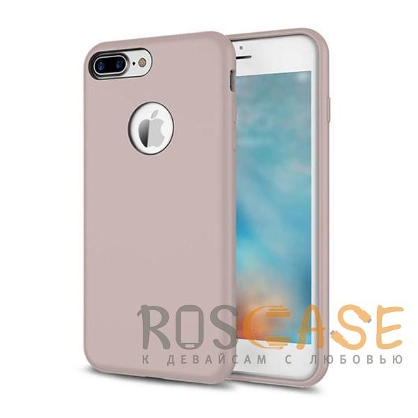 """Изображение Сиреневый / Light purple Rock Silicon   Ультратонкий чехол для Apple iPhone 7 plus / 8 plus (5.5"""") из силикона"""