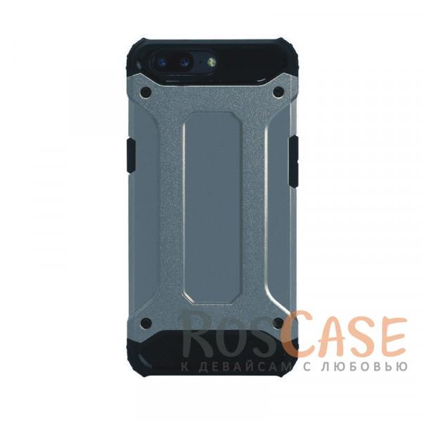 Противоударный двухкомпонентный чехол с дополнительной защитой углов для OnePlus 5 (Серый / Metal slate)Описание:ударопрочный чехол;спроектирован специально для OnePlus 5;защищает заднюю панель гаджета и боковые грани;приподнятые бортики защищают экран от царапин;конструкция из двух материалов - термополиуретана и поликарбоната;предусмотрены все необходимые вырезы;не скользит в руках;формат - накладка.<br><br>Тип: Чехол<br>Бренд: Epik<br>Материал: TPU