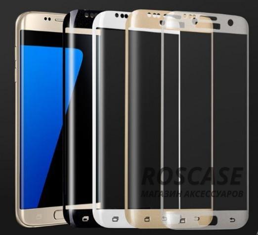 Противоударное закаленное стекло 0.2mm с защитой на весь экран Samsung G935F Galaxy S7 Edge (2.5D)Описание:идеально подходит для Samsung G935F Galaxy S7 Edge;материал: закаленное стекло;тип: стекло на экран.&amp;nbsp;Особенности:закругленные грани 2.5D;ультратонкое  -  0,2 мм;прочность  -  9H;закрывает весь экран, в том числе боковые закругления;ударопрочное;олеофобное покрытие;цветная окантовка;защищает от царапин.<br><br>Тип: Защитное стекло<br>Бренд: Epik