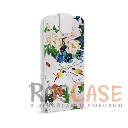 Универсальный чехол-флип Gresso Аморе для смартфона 4.5-5.2 дюйма (Белый)<br><br>Тип: Чехол<br>Бренд: Gresso<br>Материал: Искусственная кожа