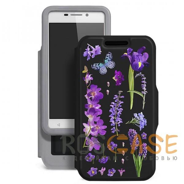 Универсальный чехол-книжка Gresso с цветочным принтом Виктория-ирис для смартфона с диагональю 4,9-5,2 дюйма (Черный)Описание:совместимость -&amp;nbsp;смартфоны с диагональю&amp;nbsp;4,9-5,2 дюйма;материал - искусственная кожа;тип - чехол-книжка;предусмотрены все необходимые вырезы;защищает девайс со всех сторон;цветочный рисунок;ВНИМАНИЕ:&amp;nbsp;убедитесь, что ваша модель устройства находится в пределах максимального размера чехла.&amp;nbsp;Размеры чехла: 144*76 мм.<br><br>Тип: Чехол<br>Бренд: Gresso<br>Материал: Искусственная кожа