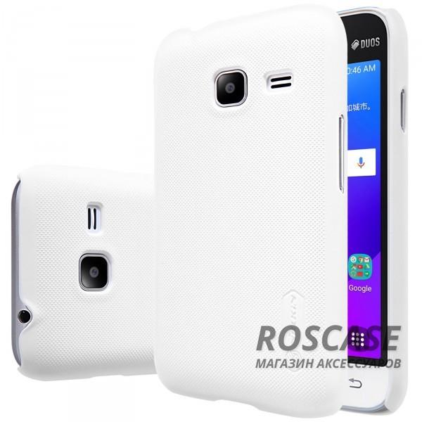 Чехол Nillkin Matte для Samsung J105H Galaxy J1 Mini / Galaxy J1 Nxt (+ пленка) (Белый)Описание:производитель -&amp;nbsp;Nillkin;материал - поликарбонат;совместим с Samsung J105H Galaxy J1 Mini / Galaxy J1 Nxt;тип - накладка.&amp;nbsp;Особенности:матовый;прочный;тонкий дизайн;не скользит в руках;не выцветает;пленка в комплекте.<br><br>Тип: Чехол<br>Бренд: Nillkin<br>Материал: Поликарбонат