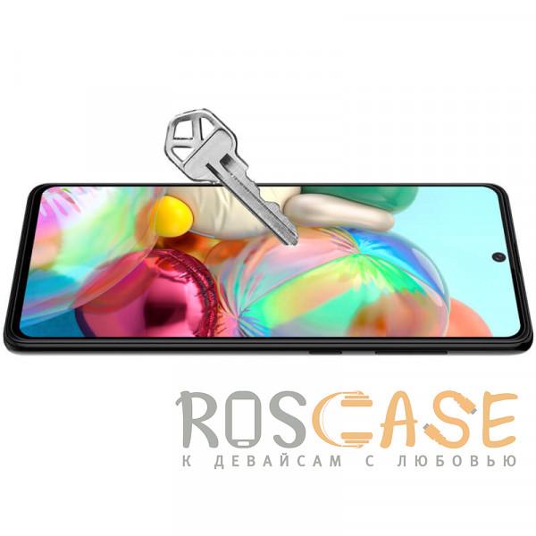 Фотография Черное Nillkin CP+ PRO | Закаленное защитное стекло для Samsung Galaxy A71 / M51 / Note 10 Lite