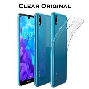 Clear Original | Прозрачный TPU чехол 2мм  для Huawei Y5 (2019)
