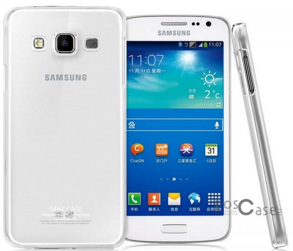 Пластиковая накладка IMAK Crystal Series для Samsung A300H / A300F Galaxy A3  (Прозрачный / Transparent)Описание:Изготовлена компанией&amp;nbsp;IMAK;Спроектирована персонально для Samsung A300H / A300F Galaxy A3;Материал: сверхгибкий поликарбонат;Форма: накладка.Особенности:Исключается появление царапин и возникновение потертостей;Восхитительная амортизация при любом ударе;Глянцевая прозрачная поверхность;Не подвержена деформации;Непритязательна в уходе.<br><br>Тип: Чехол<br>Бренд: iMak<br>Материал: Пластик