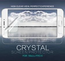 Nillkin Crystal | Прозрачная защитная пленка для Meizu Pro 6