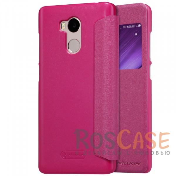 Кожаный чехол (книжка) Nillkin Sparkle Series для Xiaomi Redmi 4 Pro / Redmi 4 Prime (Розовый)Описание:от компании&amp;nbsp;Nillkin;совместим с Xiaomi Redmi 4 Pro / Redmi 4 Prime;материалы: поликарбонат, искусственная кожа;тип: чехол-книжка.<br><br>Тип: Чехол<br>Бренд: Nillkin<br>Материал: Натуральная кожа