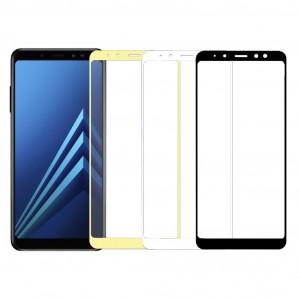 5D защитное стекло для Samsung A530 Galaxy A8 (2018) на весь экран