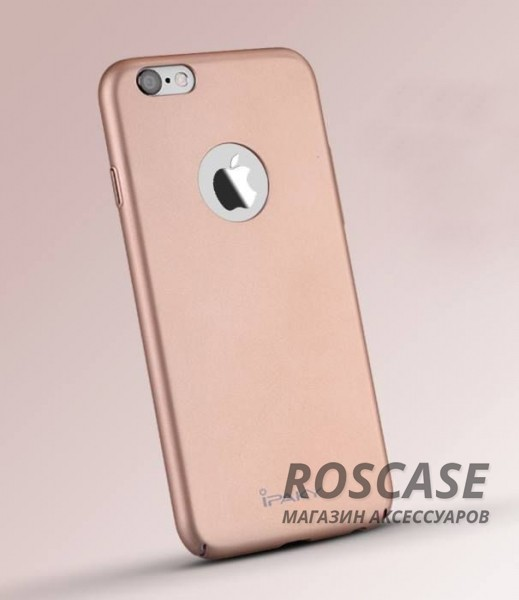 "Фото Rose Gold iPaky Metal Plating  | Пластиковый чехол для Apple iPhone 6/6s (4.7"")"