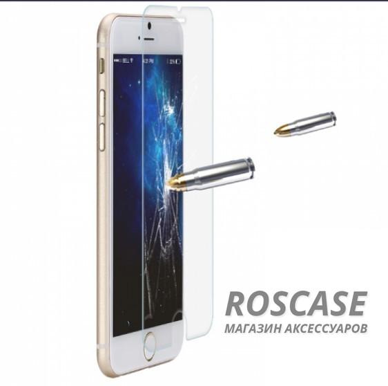 """Изображение Закаленное защитное стекло ROCK на экран с закругленными гранями и олеофобным покрытием """"анти-отпечатки"""" для Apple iPhone 6/6s (4.7"""")"""
