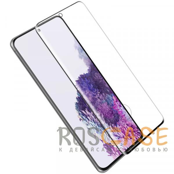 Фотография Черное Nillkin 3D CP+ MAX | Защитное стекло с полной проклейкой для Samsung Galaxy S20