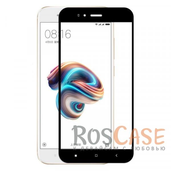 Фото Черный Silk Screen | Защитное стекло 2,5D для Xiaomi Mi 5X / Mi A1