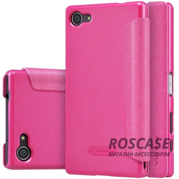 Кожаный чехол (книжка) Nillkin Sparkle Series для Sony Xperia Z5 Compact (Розовый)Описание:компания производитель: Nillkin;подходит в точности к Sony Xperia Z5 Compact;изготовлен: кожа в сочетании с полиуретаном;вид: книжка.Особенности:стильное дополнение смартфона;блестящая поверхность;стильный дизайн;маленький вес.<br><br>Тип: Чехол<br>Бренд: Nillkin<br>Материал: Искусственная кожа